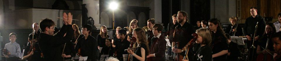 Tower Hamlets Youth Orchestra at Shoreditch Church